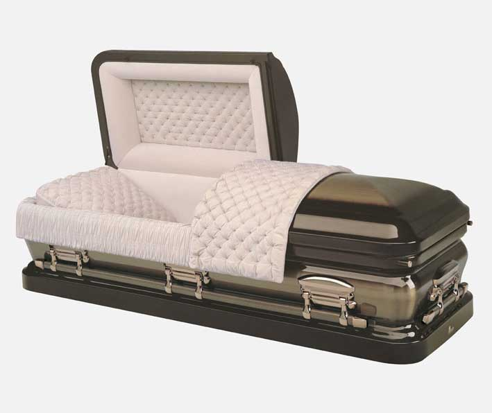 Metal Star Quartz Casket